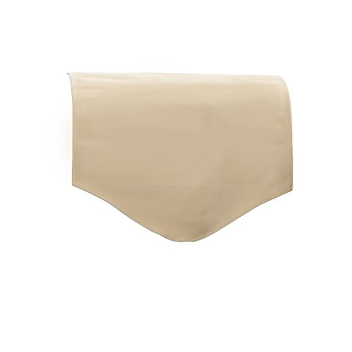 Changing Sofas Cream Faux Leather Back Seat Cover for Chair, Sofa, or Armchair