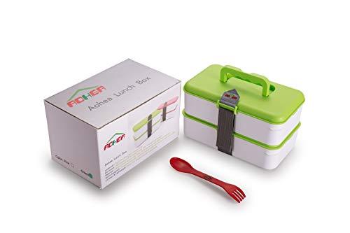 Bo/îte /à lunch /étanche 4 compartiments Passe au micro-ondes Pour adolescents filles ou gar/çons