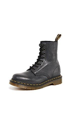 Dr. Martens, Women's 1460 Pascal 8-Eye Leather Boot, Black, 8 US Women
