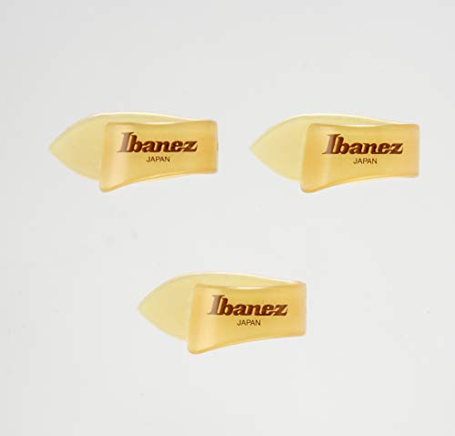 IBANEZ Ultem Daumen Picks Made in Japan - Natural 3er Pack (PULT1)