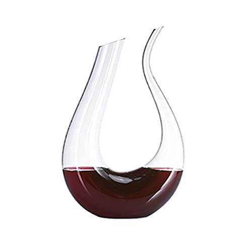 Decantador Decantador Rápido De Cristal Sin Plomo Utensilios Para Vino Dispensador De Vino Oblicuo