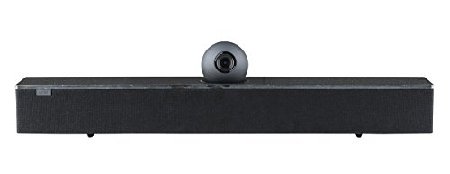 AMX Acendo Vibe Conferencing Sound Bar with Camera, Black