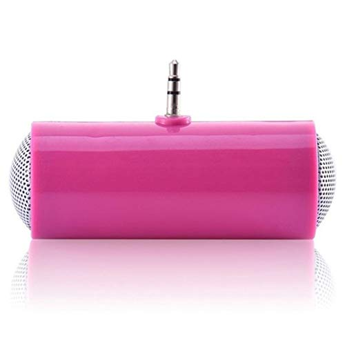 kemanner Altoparlante per Telefono HD con interfaccia Mini USB Portatile da Esterno da 3,5 mm Casse acustiche Portatili