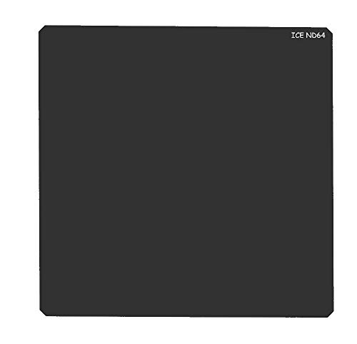 ICE 150mm ND64 Filter Neutral Density 6 Stop Optical Glass Lee SW150 Compatible Includes Plastic Hard Shell Case