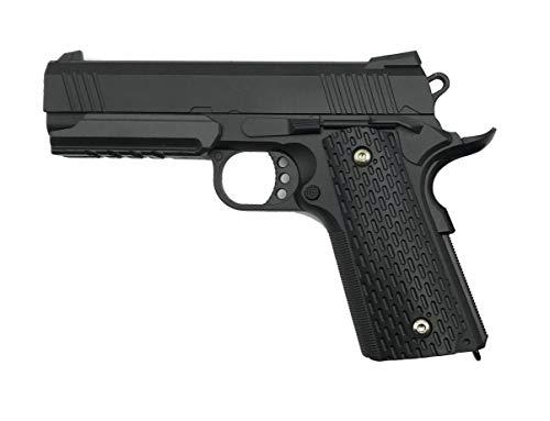Rayline G25 Voll Metall Softair (Manuell Federdruck), Maßstab 1:1, Gewicht 570g, 6mm Kaliber, Farbe: Schwarz/Black