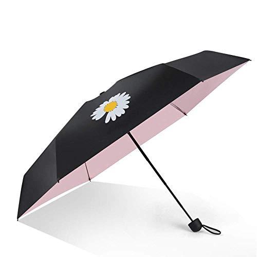 Huayixiangtai Kompaktes Reise Regenschirm Regenschirm Sturmsicheren Regenschirm Reise