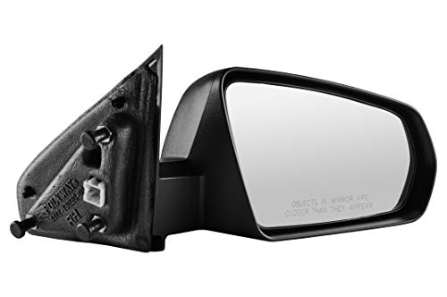 Right Passenger Side Textured Power Operated Non-Folding Side View Mirror for 2008-2014 Dodge Avenger - Partslink # CH1321269