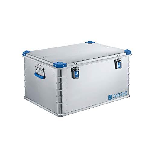 ZARGES Aluminium-Universalbox - Inhalt 157 l - Außenmaß LxBxH 800 x 600 x 410 mm - Alu-Box Alu-Boxen Alu-Kiste Alu-Kisten Aluminiumkiste Aluminiumkisten Box Eurobox Kiste Kisten Kästen Leichtmetallbehälter Mehrwegbox Mehrwegboxen Stahlkoffer