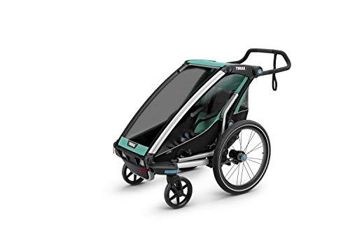 Thule Unisex Baby Chariot Lite Fahrradlastenanhänger, Bluegrass-Blau, 1 Child