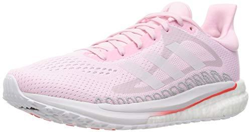 adidas Solar Glide 3 W, Zapatillas de Running Mujer, Fresh Candy FTWR White Silver Met, 37 2/3 EU