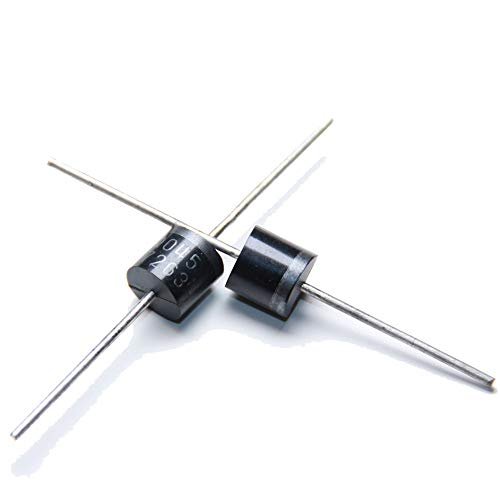 (25pcs) 15SQ045 Schottky Diodes 15A 45V, Diode Axial Schottky Blocking Diodes for Solar Cells Panel