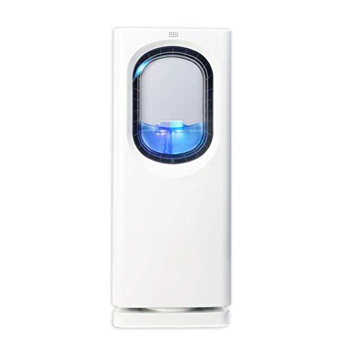 DSDD Tragbarer 65-W-Luftkühler mit Fernbedienung, leiser, blattloser elektrischer Lüfter-Verdunstungskühler, 3-stufige Einstellung 8-Stunden-Timer für das Home-Office-Schlafzimmer