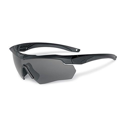 EnzoDate Balistici Occhiali Militari 3LS, 4LS O 5LS Kit, Polarizzato Army Sunglasses Men'S Tactical Anime (Nero, 5 Lenti (1 Polarizzata Su 5))