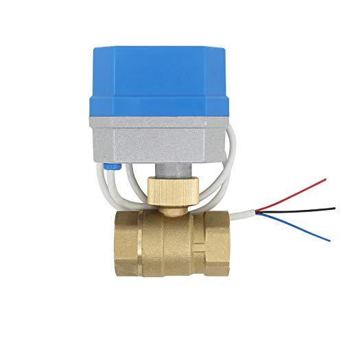 12v - 2 tipi di connessione - Valvola a sfera motorizzata 12v dc normalmente chiuso elettrovalvola motorizzata sfera 1/2 3/4 1 1-1/4 1-1/2 2 pollice (3/4 pollice DN20)