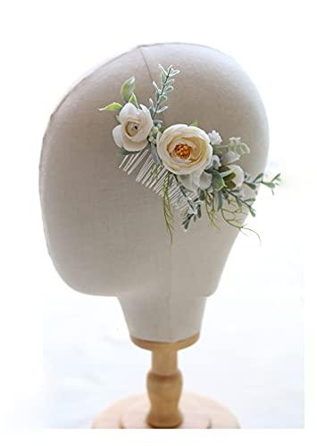 HJYHYN Couronne de fleurs artificielles - Couronne de fleurs...