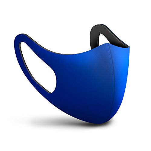 SPHERA mascherina lavabile adulto colore blu Made in Italy mascherine lavabili chirurgiche classe I tipo I 15 lavaggi. Marcatura CE conforme EN 14683:2019 + AC:2019 Direttiva Europea 93/42/EEC