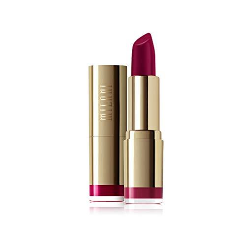 Milani Color Statement Lipstick - Black Cherry, Cruelty-Free Nourishing Lip Stick in Vibrant Shades, Red Lipstick, 0.14 Ounce