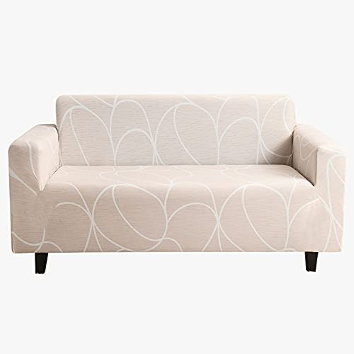 Funda de sofá elástica para Sala de Estar Funda de sofá Funda de sofá seccional Funda de sillón Mobiliario elástico Protegido A10 4 plazas