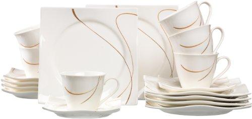 Ritzenhoff & Breker Kaffeeservice Scala, 18-teilig, Porzellangeschirr