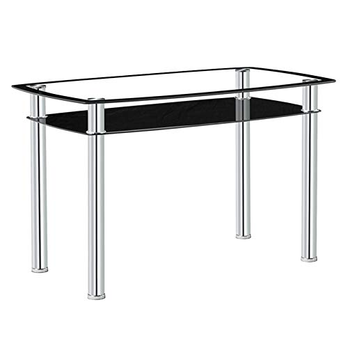 1207075cm Double-Glazed Dining Table Fancy Dining Table Dining Tables Dining Room Table for Small Spaces Kitchen Modern Table for Home Furniture