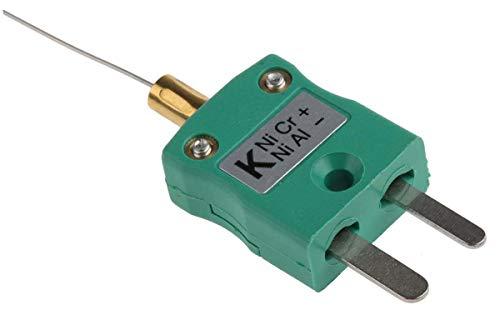 RS PRO Thermoelement Typ K bis +750°C, Fühler 250mm, Edelstahl, IEC