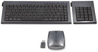 【並行輸入品】Kensington SlimBlade Wireless Multimedia Keypad&Mouse Set 98 Keys Graphite 1 micro USB receiver