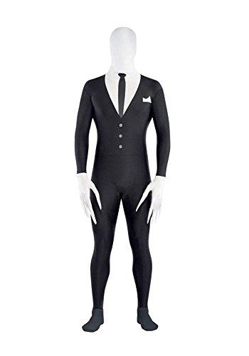 Generic Der Schlanke-Mann Party-Anzug für Halloween und Kostümfeste Herren- Größe: M für 153 cm bis 163 cm