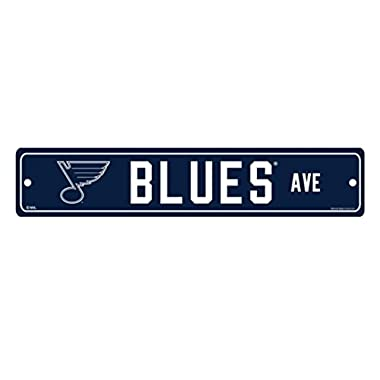 WinCraft NHL St. Louis Blues Street Sign