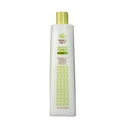 Trader Joe's Tea Tree Tingle Conditioner with Peppermint and Eucalyptus - Cruelty Free (16 oz)