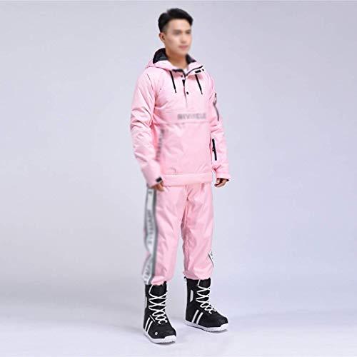 Outdoor Clothing Ski Suits Pink Women's Ski Jacket and Pants Set Men's Waterproof Snowsuit Snowboard Snow Suits Rain Coat Windbraker Outwear Coveralls Winter Outdoor Snows LATT LIV