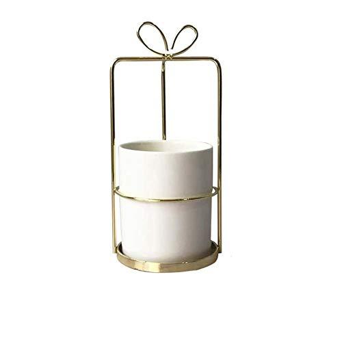 Dosige Pot de Fleurs pour étagères de Bureau Supports décoratifs extérieurs pour Table de Salle à Manger Windowsill