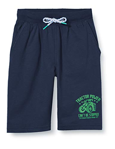 Salt & Pepper Jungen 03116166 Shorts, Blau (Classic Blue 474), 116 (Herstellergröße: 116/122)