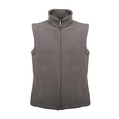Regatta Herren Micro Fleece Bodywarmer Outdoor Weste, Grau (Seehundgrau), XL