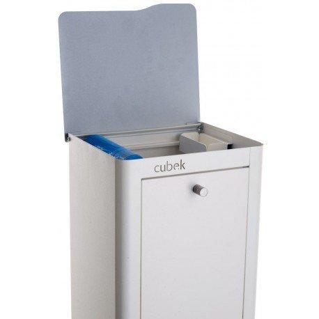 DON HIERRO - CUBEK - Cubo de basura y reciclaje lacado, con 2 ...