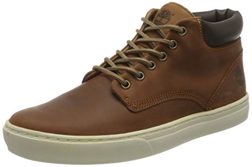 Timberland Adventure 2.0 Cupsole Chukka, Zapatillas para Hombre, Marrón (MD Brown Full Grain), 45 EU