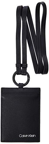 Calvin Klein Herren United Wearable Keyfob Schlüsselanhänger Schwarz (Blackwhite Black)