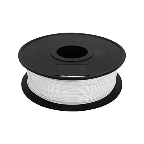 Xpork 3D Printer Filament Printing Spool Muti-Color Material Kit for 3D Printers and 3D Pens White