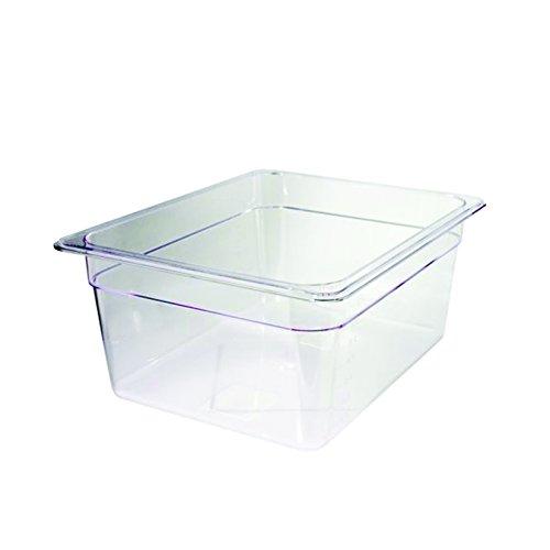 Decora Conteneur en Polycarbonate Transparent 1/2, 26.5 x 32.5 x 15 cm, Transparent