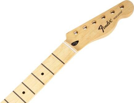 フェンダー Fender Mexico 純正パーツ Telecaster Neck, 21 Medium Jumbo Frets, Maple 995102921 テレキャスター メイプル指板 ネック ギター 交換用ネック 『並行輸入品』