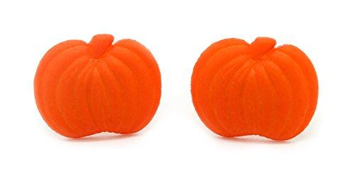 Bluebubble MINI TRICK OR TREAT Halloween Pumpkin Stud Earrings Gift Boxed