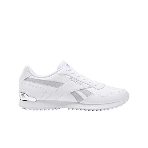 Reebok Royal Glide RPLCLP, Zapatillas Mujer, Blanco/Plamet/Blanco, 42 EU