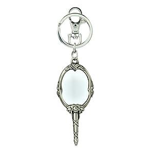 Disney Beauty & The Beast Magic Mirror Pewter Key Ring Key Accessory