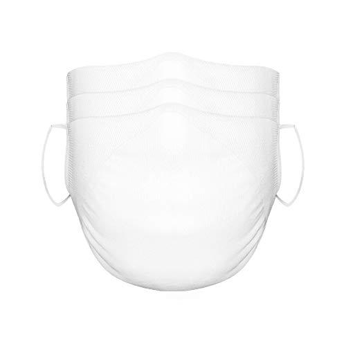Kit com 3 Máscaras Zorba Microfibra ZMSK Único - Branca