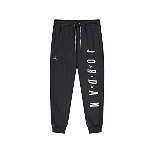 NIKE Air Jordan Traje Hombre pantalón Negro Cintura elástica CK9581-011