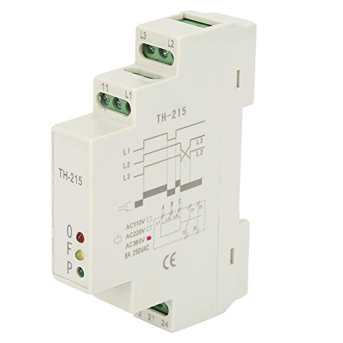 380V 1P 3 Phase Sequence Control Relays Voltage Monitor Power Protection Relay 50 Hz