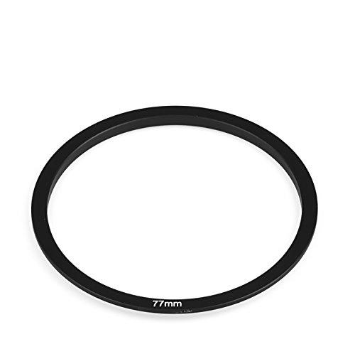 Adaptador de filtro cuadrado de 77 mm compatible con Cokin P Series...
