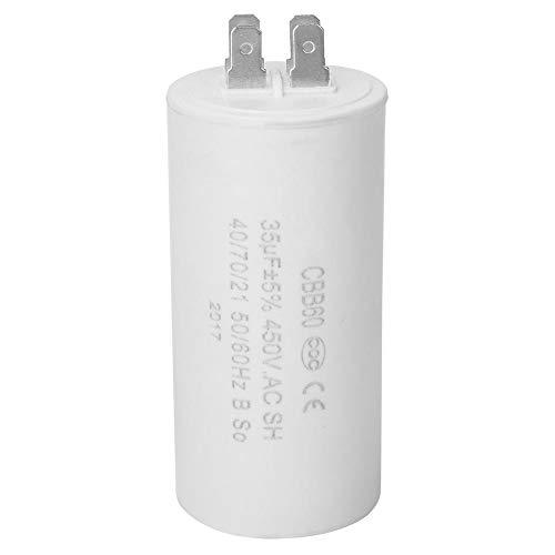 CBB60 AC Motor Start Kondensator, 450V 35uF 4 Pin ESR 0.2 umweltfreundlicher Generatorkondensator für Klimaanlagen, Wasserpumpen
