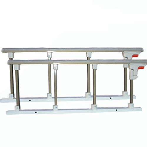JIMI-I Une Paire de clôtures en Alliage d'aluminium, accoudoirs Pliables, Accessoires de Soins de lit, clôture Anti-Chute pour Homme