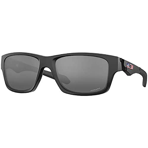 Oakley Men's Jupiter Squared Sunglasses,56mm,Matte Black/Prizm Black