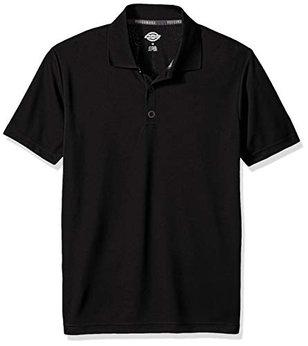 Dickies Herren Performance Polo Poloshirt, schwarz, Groß